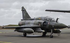 Фото Самолеты Истребители Асфальт Dassault Mirage 2000D