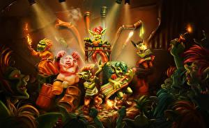 Фотография Hearthstone: Heroes of Warcraft Тролль Праздники Концерт Игры Фэнтези