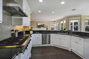 Обои Интерьер Дизайн Кухня Потолок