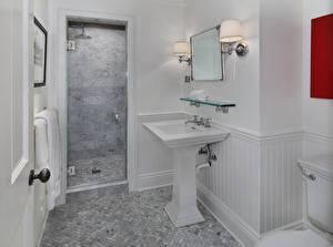 Картинки Интерьер Дизайн Туалет Лампа