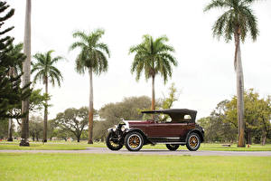 Фото Lincoln Винтаж Бордовая Пальма 1924 Model L Sport Phaeton by Brunn Автомобили