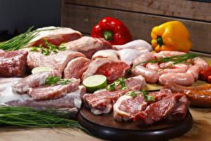 Обои Мясные продукты Пища