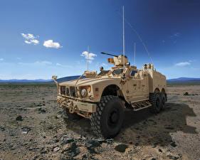 Фотография Боевая техника Пулеметы 2015-17 Oshkosh M-ATV 6×6 Армия