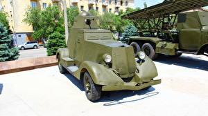 Обои Боевая техника Россия Волгоград Русские Музей BA-20M Армия