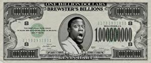 Обои Деньги Банкноты Доллары Негр Забавные Brewsters Billions Смешные