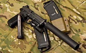Картинки Пистолеты Глушитель (оружейный) Армия