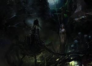 Картинка Сверхъестественные существа Пауки Фэнтези