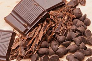 Картинки Сладости Шоколад Пища
