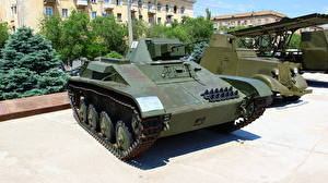Картинка Танки Россия Волгоград Российские Музей T-60