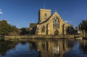 Фотографии Великобритания Храмы Церковь Речка St Helens Church Welton East Yorkshire