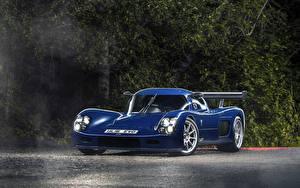 Картинки Металлик Синие 2015-17 Ultima Evolution Coupe Автомобили