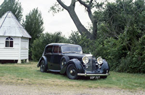 Картинки Бентли Старинные 1939 Mark V Saloon by Park Ward Автомобили