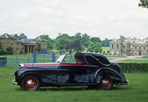 Фотография Bentley Винтаж Металлик Сбоку 1949 Mark VI Sedanca Coupe by Gurney Nutting Автомобили