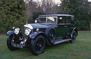 Картинки Bentley Ретро 1928 6 ½ Litre Saloon by Barker Автомобили