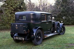 Фото Бентли Старинные Вид сзади 1928 6 ½ Litre Saloon by Barker автомобиль