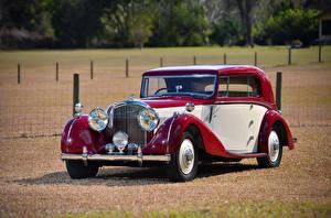Картинка Бентли Винтаж Металлик 1939 4 ¼ Litre Coupe by Park Ward Автомобили