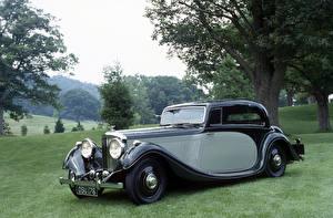 Фото Bentley Ретро Металлик 1936 4 ¼ Litre Pillarless Coupe by Gurney Nutting Автомобили