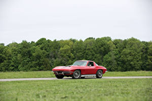 Фотографии Шевроле Винтаж Красный 1967 Corvette Sting Ray L68 427-400 HP
