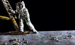Фотография Космонавты Американские Космос
