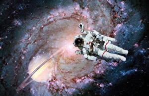 Фотографии Космонавты Американские Космос