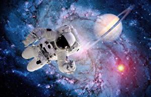 Обои Космонавты Американские Космос