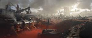 Картинка Фантастический мир Titanfall 2 Фабрика Фэнтези