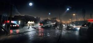 Фото Вертолеты Battlefield Hardline Полицейские Ночные