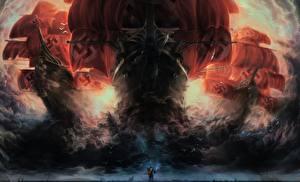 Картинки Рыцарь Корабли Парусные Свастика