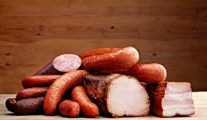 Обои Мясные продукты Колбаса Ветчина Еда