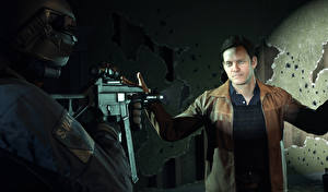 Фотография Мужчины Автоматы Battlefield Hardline 2 Special Weapons Assault Team 3D_Графика