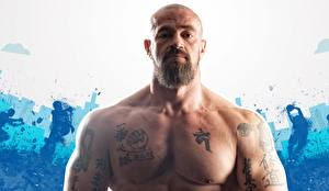 Фотография Мужчины Борода Тату Мускулы Sergey Badyuk