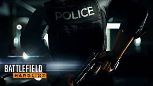 Фотографии Пистолеты Battlefield Hardline Полицейские Игры