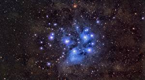 Обои Звезды M45, Pleiades