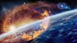 Фотография Поверхность планеты