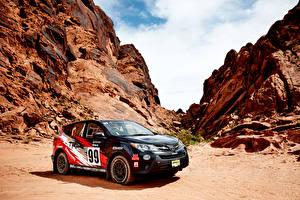 Фото Toyota Тюнинг Черный 2015 RAV4 TRD Rally Car Машины