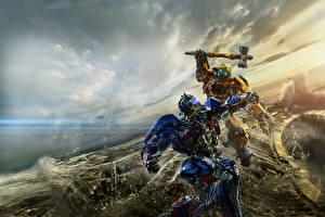 Фотография Трансформеры: Последний рыцарь Битвы Робот Боевой молот Optimus Prime Фильмы