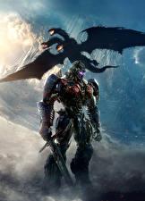 Фотография Трансформеры: Последний рыцарь Драконы Робот Мечи Optimus Prime Кино