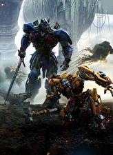 Фотография Трансформеры: Последний рыцарь Робот 2 Мечи Optimus Prime Кино