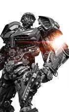 Фото Трансформеры: Последний рыцарь Робот Белый фон Фильмы