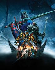Фото Трансформеры: Последний рыцарь Воины Робот Мечи Optimus Prime, Bumblebee, Mark Robert Кино