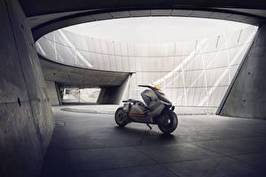 Фотографии БМВ Серебристый 2017 Motorrad Concept