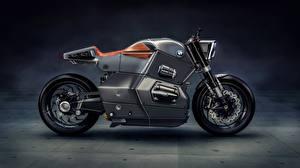 Фотографии БМВ Сбоку Bmw Urban Racer, bold design, futuristic Мотоциклы