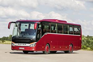 Картинка Автобус Красный 2014-17 Setra S 515 MD Машины