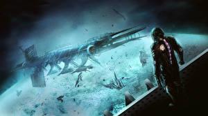 Фотография Dead Space Корабли isaac clarke Игры Фэнтези Космос