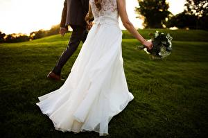 Обои Платье Жених Невеста Свадьба