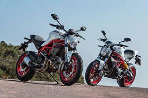 Картинка Ducati 2 2017 Monster 797 Мотоциклы