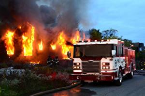 Картинка Пожарный автомобиль Огонь 2014-17 Pierce Enforcer