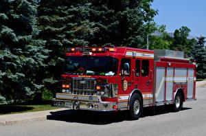 Фотография Пожарный автомобиль Spartan Gladiator Smeal Fire Engine