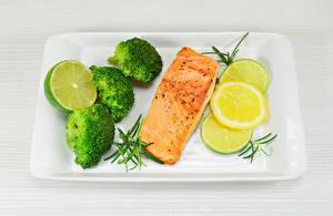 Картинка Рыба Лимоны