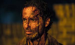 Фото Мужчины Ходячие мертвецы Эндрю Линкольн Лицо Голова Фильмы Знаменитости